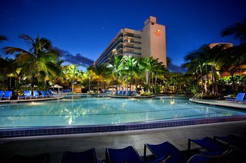 Crowne Plaza Hollywood Beach, Aug 4, 2014 5 Nights