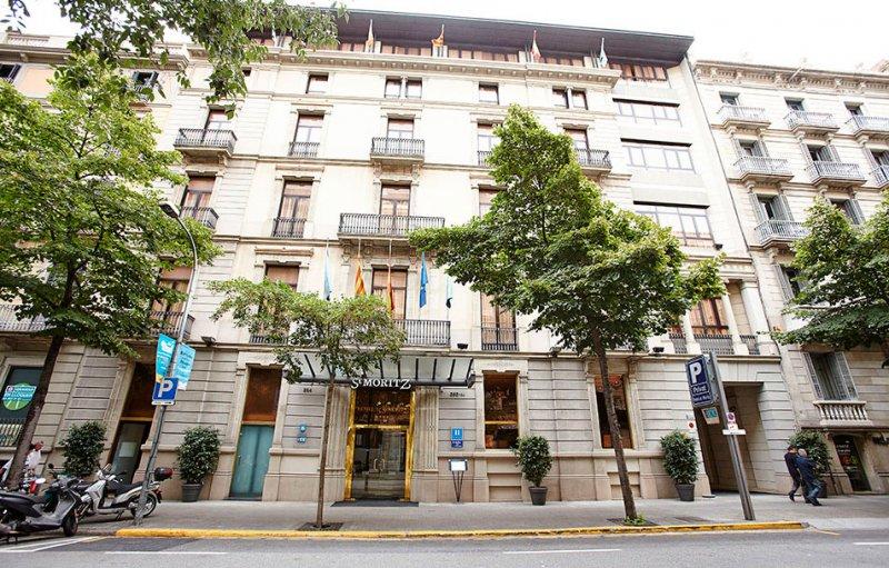 Hcc St Moritz Hotel Barcelona Spain