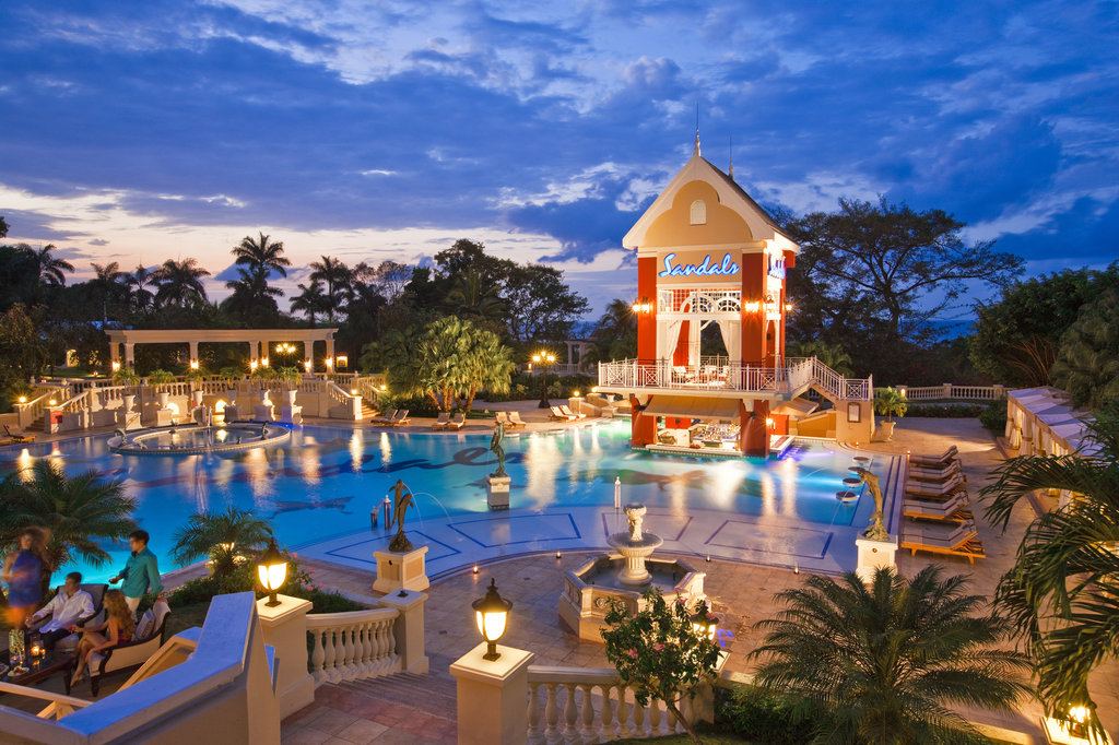 Sandals ochi beach resort cheap vacations packages red for All inclusive luxury beach resorts