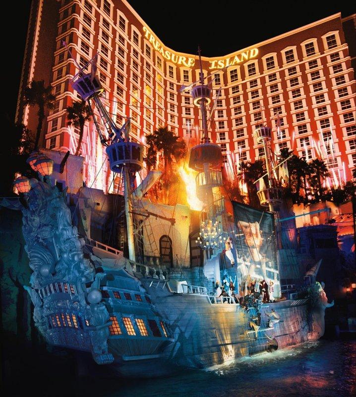 TI - Treasure Island Hotel & Casino, Las Vegas, USA