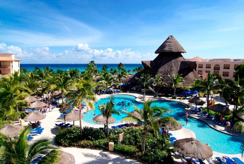 Sandos Playacar Beach Resort And Spa Cheap Vacations Packages Red Tag Vacations