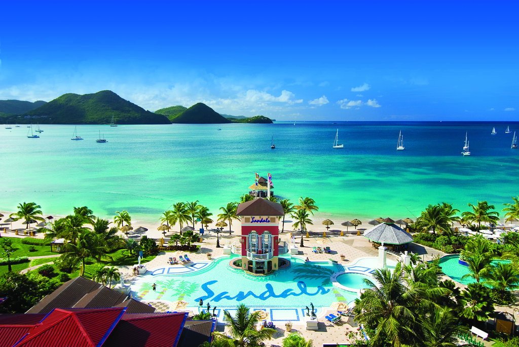 Sandals grande st lucian spa and beach resort cheap for Best spa vacation packages
