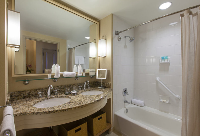 Hyatt regency coconut point resort and spa cheap vacations for P bathroom suites cheap