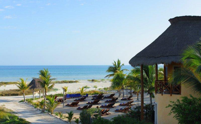 Villas hm palapas del mar isla holbox cheap vacations for Villas hm palapas del mar