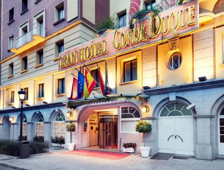 Sercotel Gran Hotel Conde Duque Madrid Spain