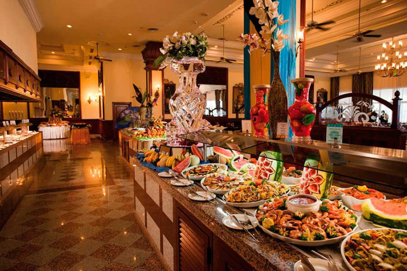 Riu palace paradise island cheap vacations packages red for Restaurant vista palace