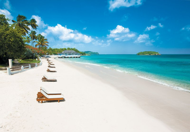 Sandals Halcyon Beach All Inclusive Castries St Lucia
