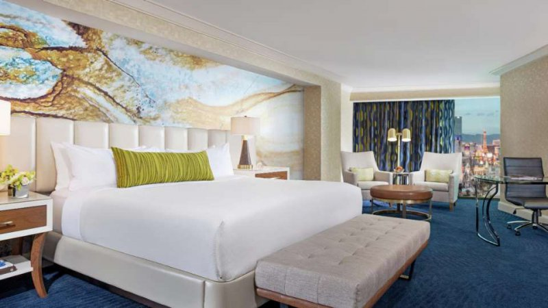 54 - Mandalay Bay Resort And Casino, Las Vegas, Run of House Room, Guest Room 55 - Mandalay Bay Resort And Casino, Las Vegas, Delano King Suite, Guest Room 56 - Mandalay Bay Resort And Casino, Las Vegas, Delano Queen Suite, Guest Room/5(K).
