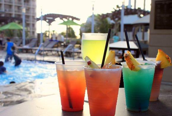 Embassy Suites Waikiki Room Service Menu